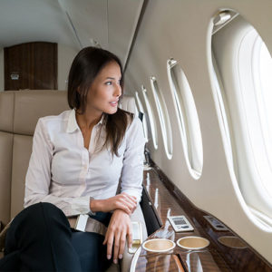 Private aircraft charter - Luxury on board private jet.