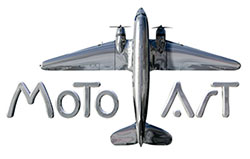 Moto Art Logo - Aviation Art
