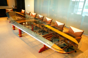 Aviation Art - Corporate table