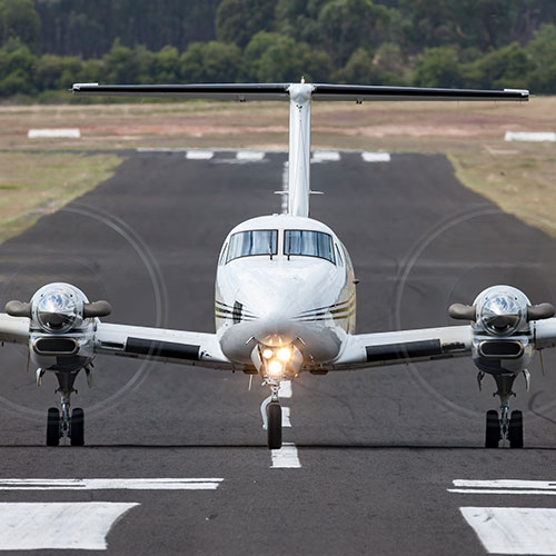 Aircraft Sales Australia - Twin Prop Aircraft taking off